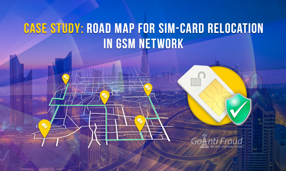Case Study: Road map for SIM-card relocation in GSM network