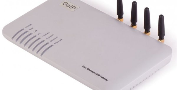 Technical specifications for GoIP 4