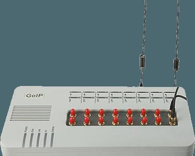 Технические характеристики для GoIP 16