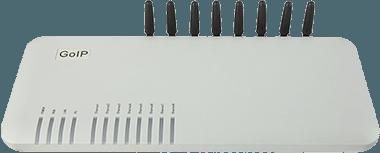 Технические характеристики для GoIP 8